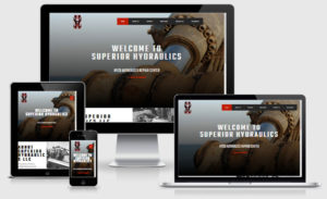 Superior Hydraulics Website Design